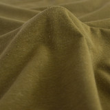 Hemp & Organic Cotton Jersey - Military - 1/2 meter