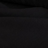 Viscose Linen Noil - Black    Blackbird Fabrics