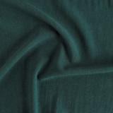Viscose Linen Noil - Midnight Spruce - 1/2 meter