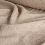 Viscose Linen Noil - Almond | Blackbird Fabrics