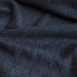 Medium Weight Hemp & Organic Cotton Denim - Deep Indigo Blue | Blackbird Fabrics
