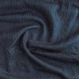 Medium Weight Hemp & Organic Cotton Denim - Deep Indigo Blue   Blackbird Fabrics