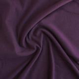 Tencel & Organic Cotton French Terry - Plum   Blackbird Fabrics