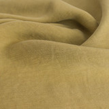 Cupro Linen & Tencel Slub - Antique Gold | Blackbird Fabrics