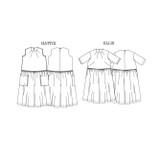 Ellis & Hattie Dress by Merchant & Mills