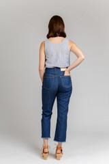 Dawn Jeans by Megan Nielsen | Blackbird Fabrics