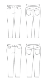 Ames Jeans   Blackbird Fabrics
