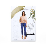 Jarrah Sweater by Megan Nielsen   Blackbird Fabrics