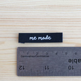 MEMADE Woven Labels by Kylie and the Machine   Blackbird Fabrics