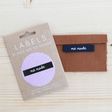 MEMADE Woven Labels by Kylie and the Machine | Blackbird Fabrics