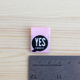 YES I MADE IT Woven Labels by Kylie and the Machine | Blackbird Fabrics