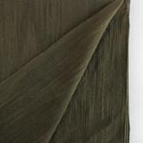 Textured Cotton Linen Jacquard - Olive | Blackbird Fabrics