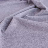 Heathered Athletic Knit - Lilac Grey | Blackbird Fabrics