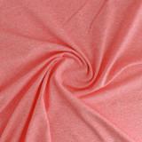 Heathered Athletic Knit - Coral   Blackbird Fabrics