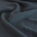 Cupro Linen & Tencel Slub - Navy | Blackbird Fabrics