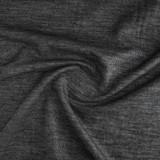 Medium Weight Weft Fusible Interfacing - Black | Blackbird Fabrics