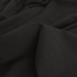 100% Organic Cotton Jersey Knit - Black | Blackbird Fabrics