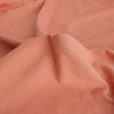 100% Organic Cotton Jersey Knit - Salmon - 1/2 meter