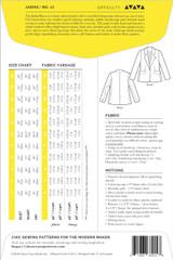 Jasika Blazer by Closet Case Patterns   Blackbird Fabrics