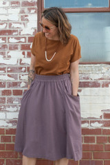 Gypsum Skirt by Sew Liberated | Blackbird Fabrics