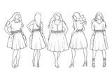 Gypsum Skirt by Sew Liberated   Blackbird Fabrics