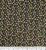 Mini Floral Print Viscose - Green/White | Blackbird Fabrics