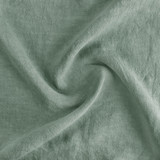Washed Linen - Dusty Jade | Blackbird Fabrics
