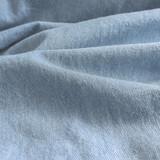 12oz Bleached Denim - Light Wash   Blackbird Fabrics