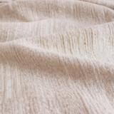 Textured Cotton Linen Jacquard - Natural | Blackbird Fabrics
