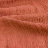 Linen Gauze - Burnt Orange   Blackbird Fabrics