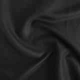 Silk & Linen Slub - Black   Blackbird Fabrics