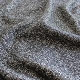 Marled Wool Blend Coating - Black - 1/2 meter