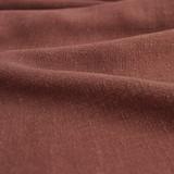 Viscose Linen Noil - Baked Clay | Blackbird Fabrics
