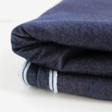 11.5oz Italian Non-Stretch Denim - Dark Indigo | Blackbird Fabrics