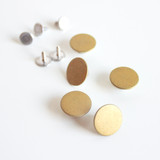 Jeans Buttons (15mm) - Gold | Blackbird Fabrics