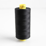 Gütermann Mara 70 Topstitching Thread - Black #000 | Blackbird Fabrics