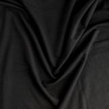 Cotton Modal Jersey Knit - Black   Blackbird Fabrics