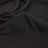 Cotton Modal Jersey Knit - Black | Blackbird Fabrics