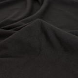 Cotton Modal Jersey Knit - Black | Blackbird Fabrics