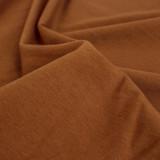 Cotton Modal Jersey Knit - Copper | Blackbird Fabrics