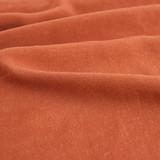 Viscose Linen Crepe - Rust | Blackbird Fabrics