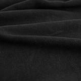 Viscose Linen Crepe - Black | Blackbird Fabrics