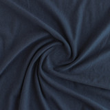Tencel & Organic Cotton French Terry - Navy | Blackbird Fabrics