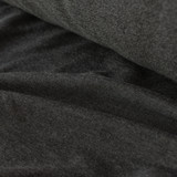 Tencel & Organic Cotton French Terry - Heather Charcoal | Blackbird Fabrics