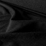 Tencel & Organic Cotton French Terry - Black | Blackbird Fabrics