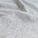 Tencel & Organic Cotton 2x2 Ribbing - Light Heather Grey | Blackbird Fabrics