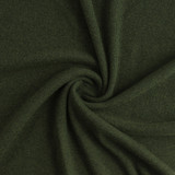 Tencel & Organic Cotton 2x2 Ribbing - Heather Forest | Blackbird Fabrics