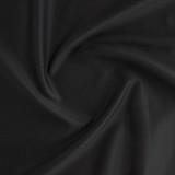 6.5oz Japanese Cotton Twill - Black   Blackbird Fabrics