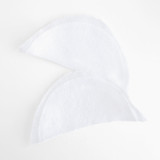 "1/4"" Shoulder Pads - White - Pair 