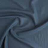 Raw Silk Noil - Storm Blue | Blackbird Fabrics